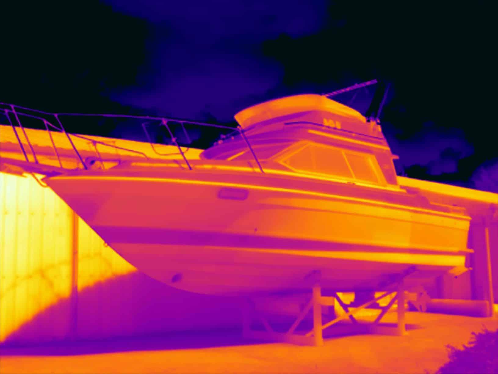 Osmose inspectie bij polyester boten