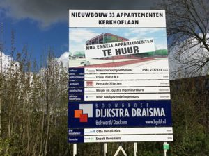 Energielabel voor 33 nieuwbouw appartementen in Sneek