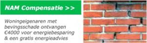 NAM compensatie regeling aardbevingsschade gratis maatrekadvies energiebesparing