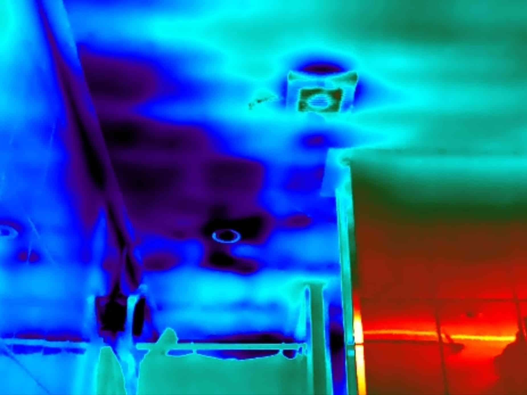thermografie bij daklekkage